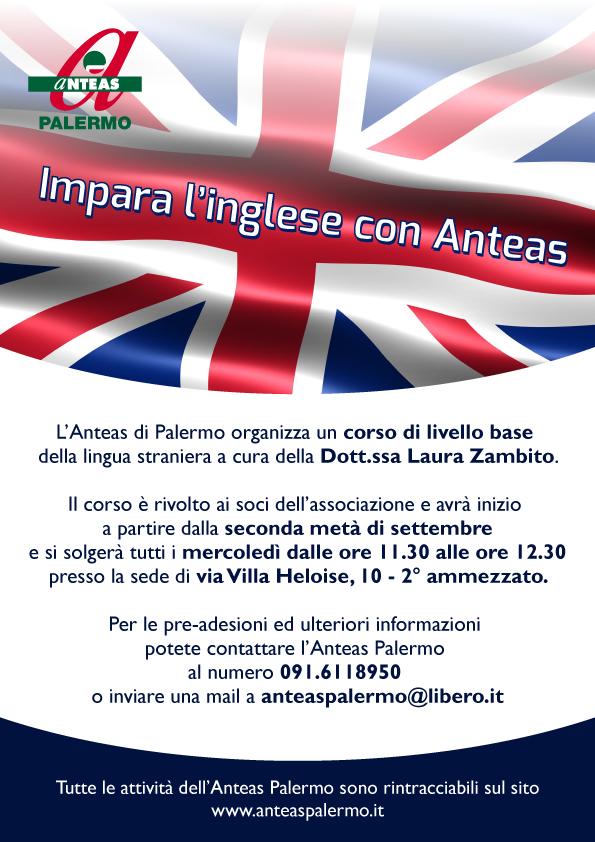 Impara l'inglese con l'Anteas Palermo